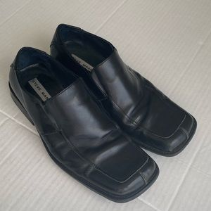 Steve Madden Eclypse men black shoes size 10